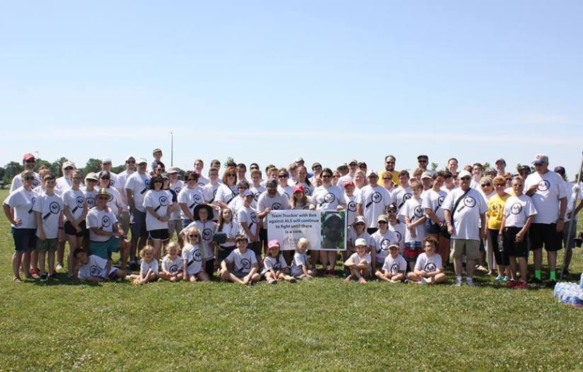 The Rudin Family Keeps on Truckin' at the Walk to Defeat ALS®