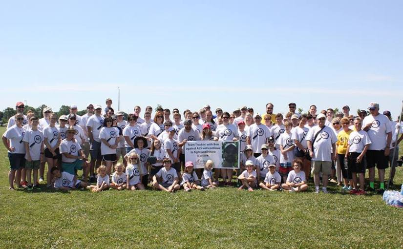 The Rudin Family Keeps on Truckin' at the Walk to DefeatALS®