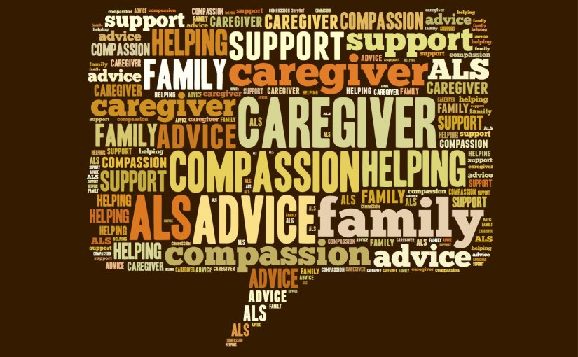 Caregiver Advice from Caregivers for People with ALS