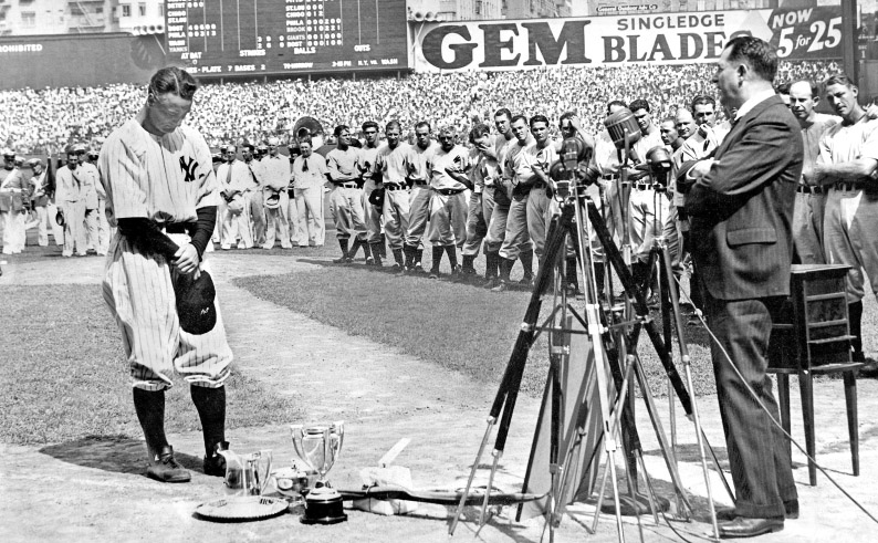 Lou Gehrig's Speech—80 Years Later