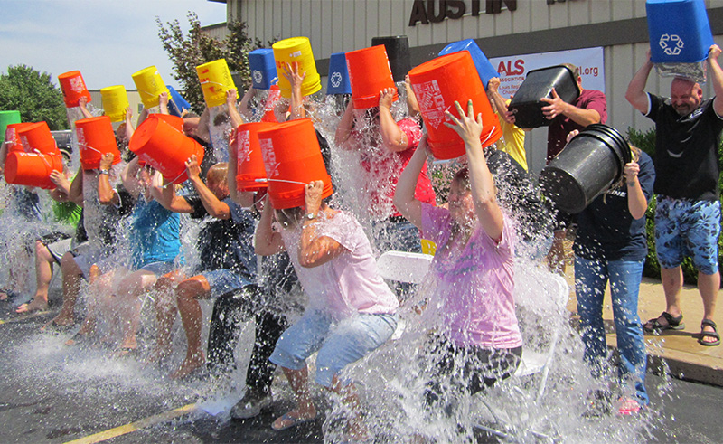 The Ice Bucket Challenge—Looking Back to Look Forward